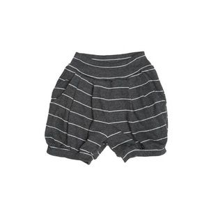 NWT Joah Love Charcoal Striped Bubble Shorts 7d4849940